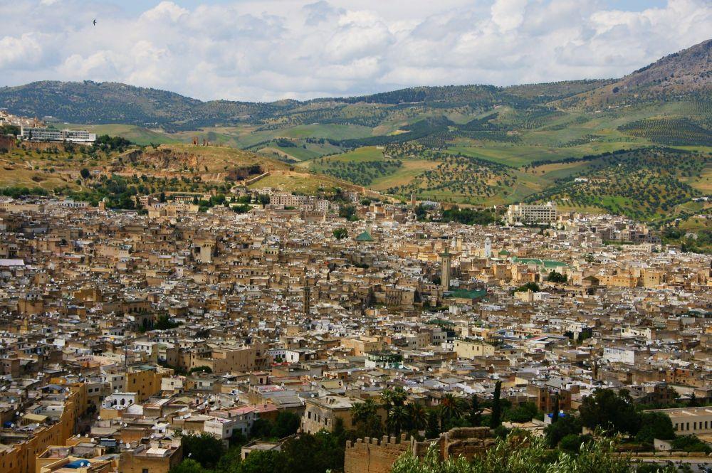 Balade guidée dans la médina de Fes Maroc