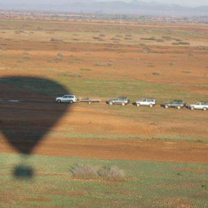 Baptème de montgolfière au dessus de Marrakech