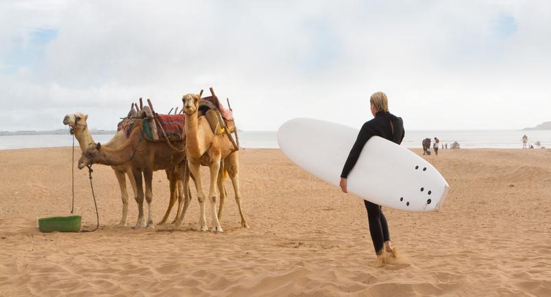 Deux journées de surf à Essaouira