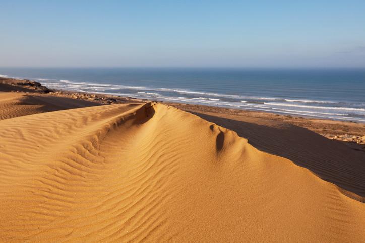 Escapade viviante sur la côte Atlantique Maroc