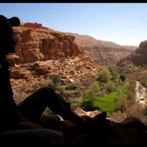 Mini trek dans la vallée de l'Ounila Maroc