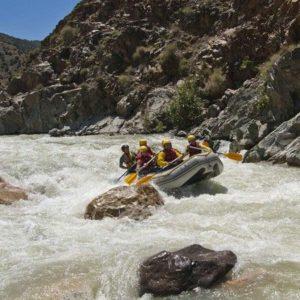 Rafting dans la vallée d'Ijoukak + picnic
