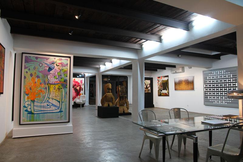 Visite de trois galeries d'art de Marrakech