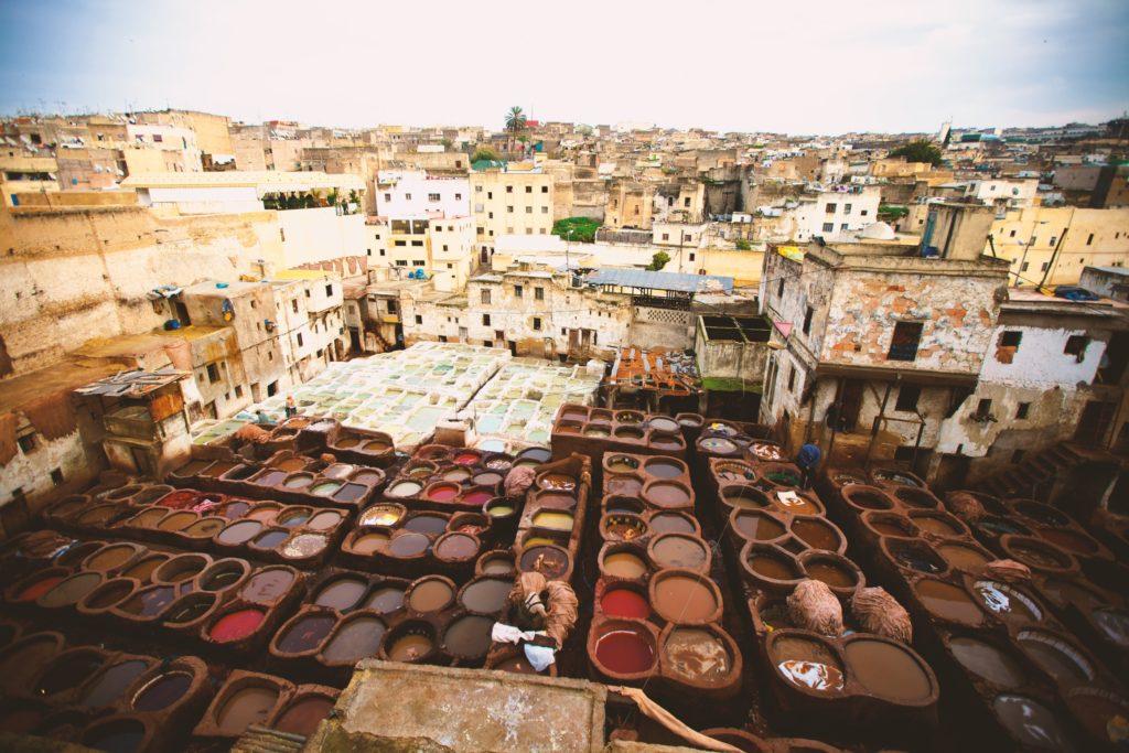 Medina Tanneurs fes
