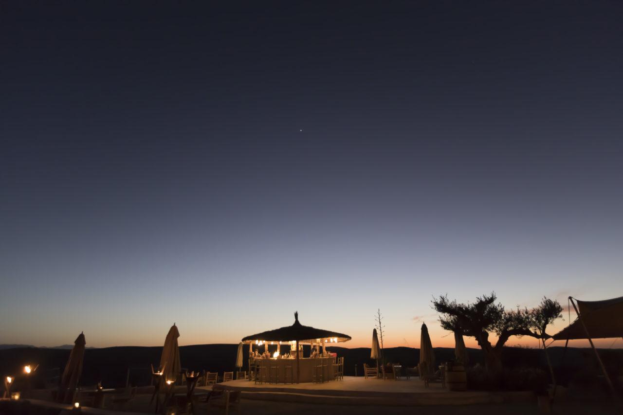 Ambiance soirée Médina désert Agafay TDE
