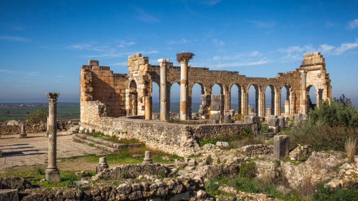 Volubilis Site archéologique Maroc Authentique